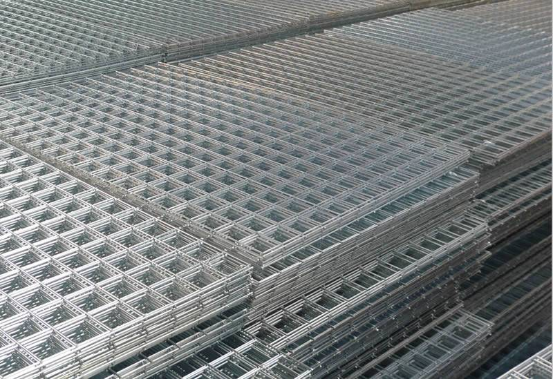 H D Galv Welded Steel Wire Net Square Mesh