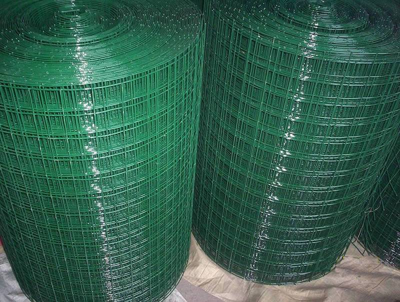 Pvc Coated Welded Wire Mesh For Greenhouse Benches Kennel