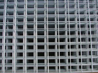 Welded Wire Mesh Fence Panels - Galvanized & Stainless Steel Fabric