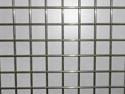 Square welded wire mesh panel weight per square meter stainless steel a piece of galvanized welded wire mesh panel on the table greentooth Image collections