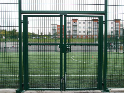 Welded Football Fence Used In School Park Playground