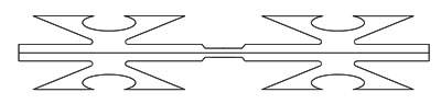 A drawing of CBT-60 razor wire.
