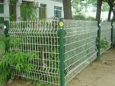 Welded Wire Fence and Double Wire Fence, Galvanized or PVC Coated