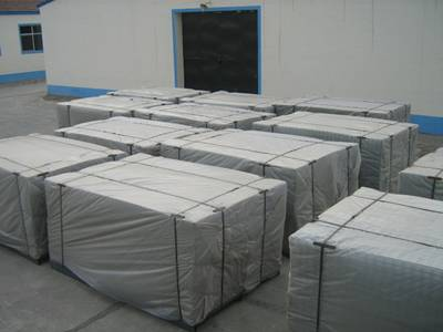 Welded Wire Mesh Panel Packing - Roll or Sheet on Pallet