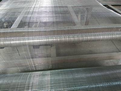 A welded wire mesh machine