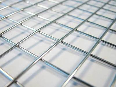 Spot Welded Wire Mesh - Galvanized, Stainless Steel or PVC Coated